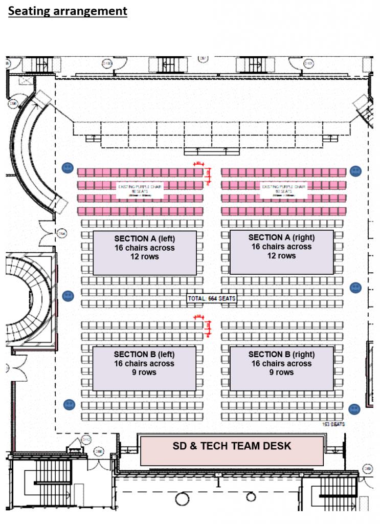 ICC Floor plans