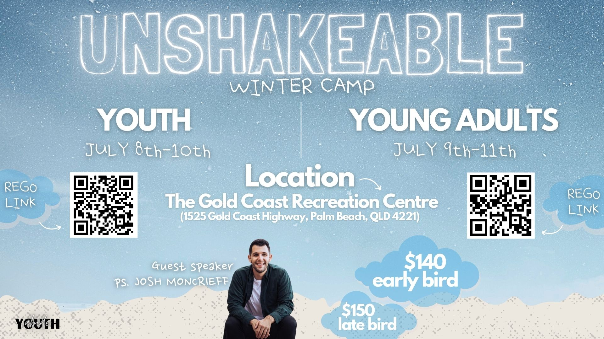 Unshakeable Winter Camp - Youth & Young Adults